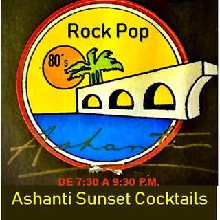 Ashanti SunSet Cocktails -RockPop