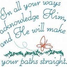 PRAYER-Acknowledge Him