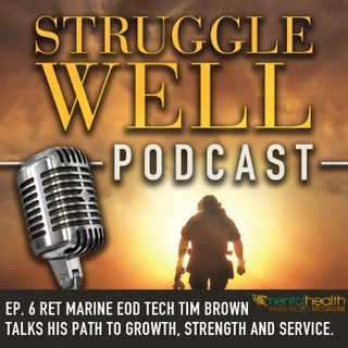 RET US Marine EOD TECH Tim Brown talks his path to growth, strength, and service.
