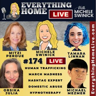 174 LIVE: Human Trafficking, Take Action, Hashtags, Domestic Abuse, Hypnotherapy