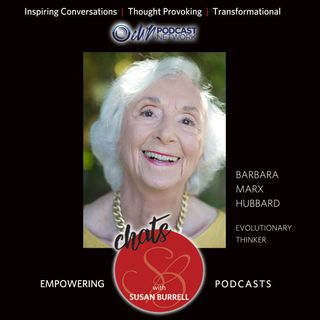 Sue shares a Living Your Inspired Show featuring Barbara Marx Hubbard