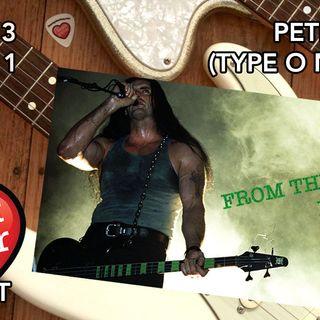 Peter Steele of Type O Negative (1999)