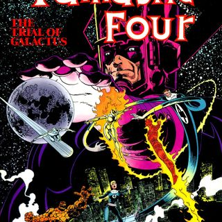 "Source Material #169 - Fantastic Four - ""Trial of Galactus"" (Marvel, 1982)"