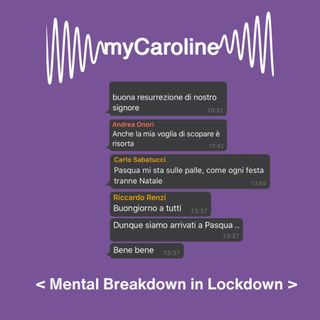 MENTAL BREAKDOWN //  In Lockdown