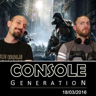 The Division, PlayStation VR e altro - CG Live 18/03/2016