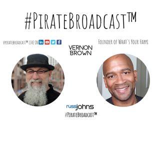 Catch Vernon Brown on the #PirateBroadcast™