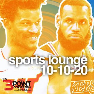 The 3 Point Conversion Sports Lounge- NBA Finals Game 5, NFL Covid-19 Breakout, Is Hurricanes Foreal, MLB Playoffs