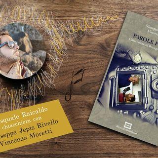 Il Libro Parole Forgiate, presentazione con Pasquale Raicaldo e i due autori Jepis e Vincenzo Moretti