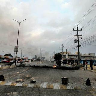Al menos 21 horas lleva bloqueada la carretera Puebla-México