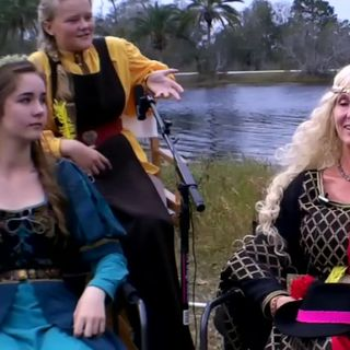 The Wonder Women of the Brevard Renaissance Fair: interview on the Hangin With Web Show
