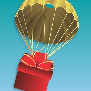 Bombs on target: Delivery of your gifts