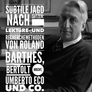 Roland Barthes und Rituale