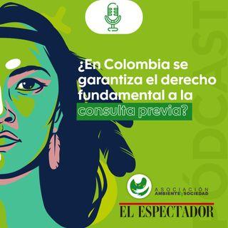 ¿En Colombia se garantiza el derecho fundamental a la consulta previa?