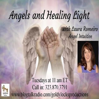 Angels and Healing Light Show ~ Special Guest: Carolan Carey ~ 22Oct2019