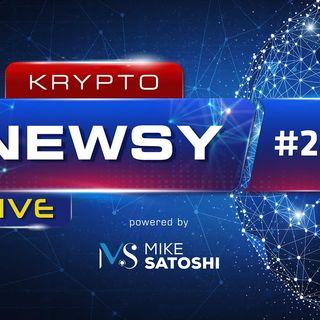 Krypto Newsy Live #285 | 06.09.2021 | Bitcoin przebił $51k, Crypto.Com Cronos nadchodzi - konkurs, Uważajcie na fałszywe profile