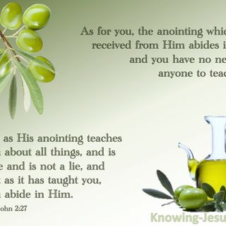 The Teaching Anointing