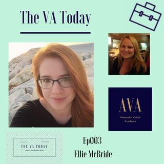Ep003 The VA Today Podcast Ellie McBride