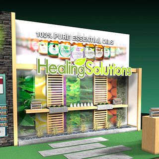 Healing Solutions Trade Show Display