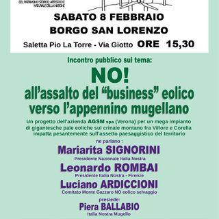 No eolico nel Mugello  Intervista a Piera Ballabio Italia Nostra