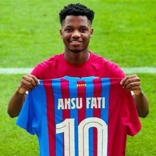 Ansu Fati el nuevo 10  del Barcelona 2 de Sep.