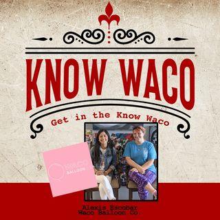Alexis Escobar of Waco Balloon Co.