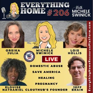206 LIVE: Domestic Abuse, Save America, Healing, Pregnancy, CLOUTHUB Jeff Brain