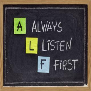 0085 -- Listen First - Then Respond