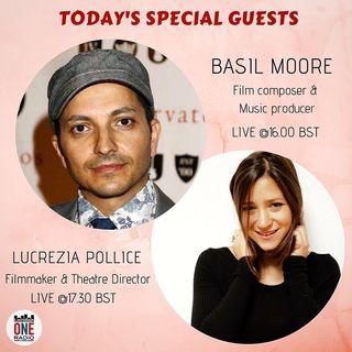 Basil Moore e Lucrezia Pollice, un mondo tra musica e cinema. Aggioramenti Brexit e l'incontro storico tra Trump e Putin