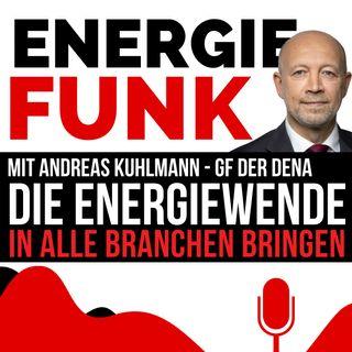E&M ENERGIEFUNK - Die Energiewende in alle Branchen bringen - zum 20. Geburtstag der Dena - der Energiepodcast