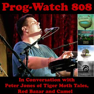 Episode 808 - In Conversation with Peter Jones of Tiger Moth Tales