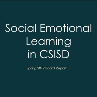 """College Station school board hears about """"Social Emotional Learning"""""""