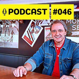 #046 – Entrevista com Reginaldo Leme: a lenda na cobertura da F1