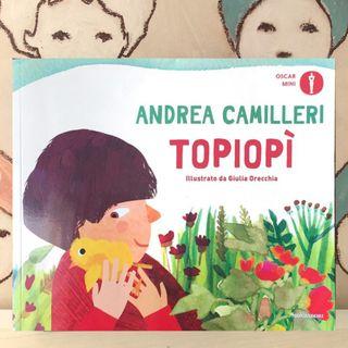 80. Topiopì di Andrea Camilleri illustrato da Giulia Orecchia.