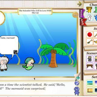 Crear cuentos e historias digitales animadas