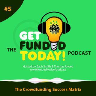 Episode 0005 | The Crowdfunding Success Matrix