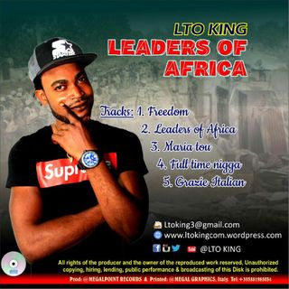 Episode 2 - NERSI RADIO PROGRAME Leaders Of Africa Full Album By (LTO KING)