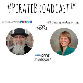 Catch Lynn Thomas on the #PirateBroadcast™