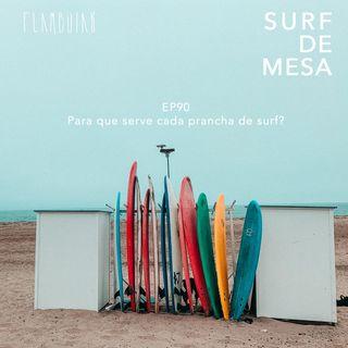 90 - Para que serve cada prancha de surf?