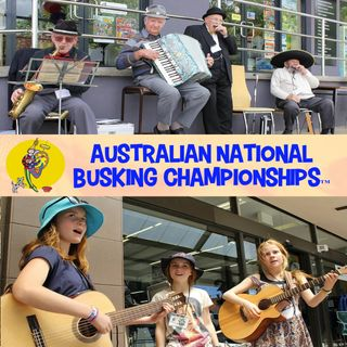 Busking For Young & Old - Allan Spencer