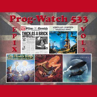 Prog-Watch 533 - Epix, Vol. 3