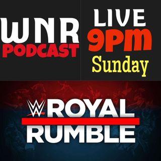 WNR269 WWE ROYAL RUMBLE 2020 LIVE KICKOFF