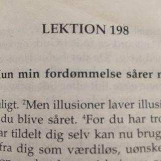 Lektion 198. Et kursus i mirakler.