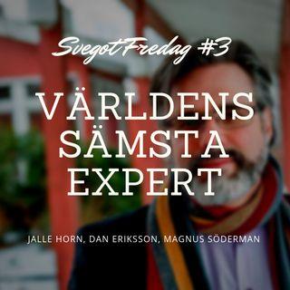 3. Christer Mattsson är världens sämsta expert