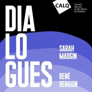 René Derouin et Sarah Madgin, artistes en arts visuels