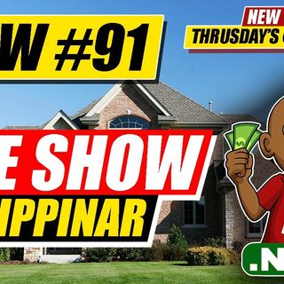 How to Wholesale Real Estate Free Training  [LIVE SHOW Flippinar #91]
