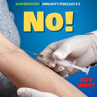 Will Public Health Expert Sam Brokken take the Vaccine if he wants to travel?