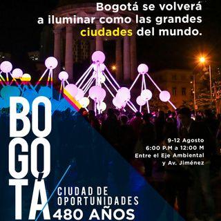 No dejes de asistir al II Festival Internacional de Luces Interactivas de Bogotá