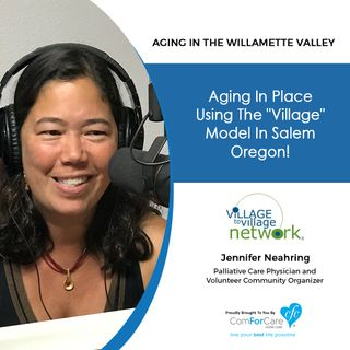 "9/18/18: Jennifer Neahring with WEAVE | Aging in place using the ""village"" model in Salem, Oregon! 