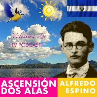 ASCENSIÓN Poema Alfredo Espino 🐦🌊 | POEMA DOS ALAS de Alfredo Espino 💖 | Antología Valentina Zoe