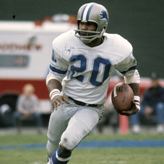 Lem Barney:Detroit Lions Hall of fame cornerback!